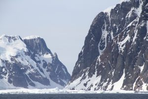 Steep slopes of fjords